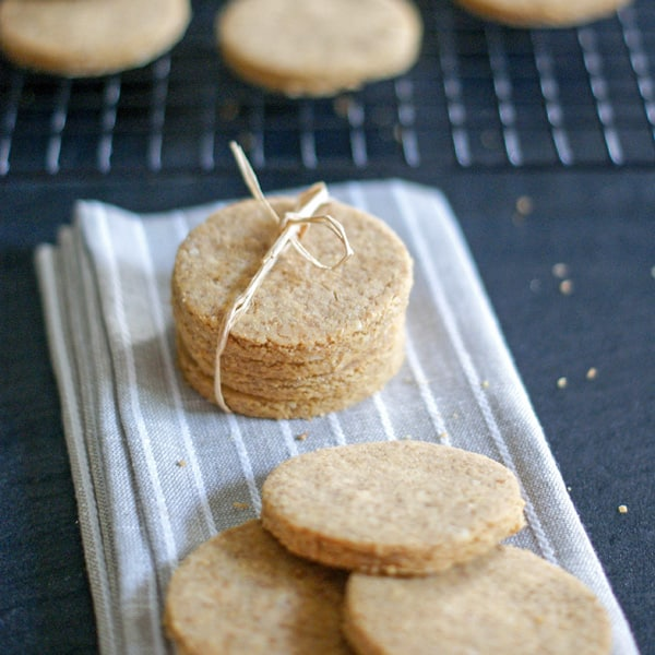 Chickpea Coconut Cookies