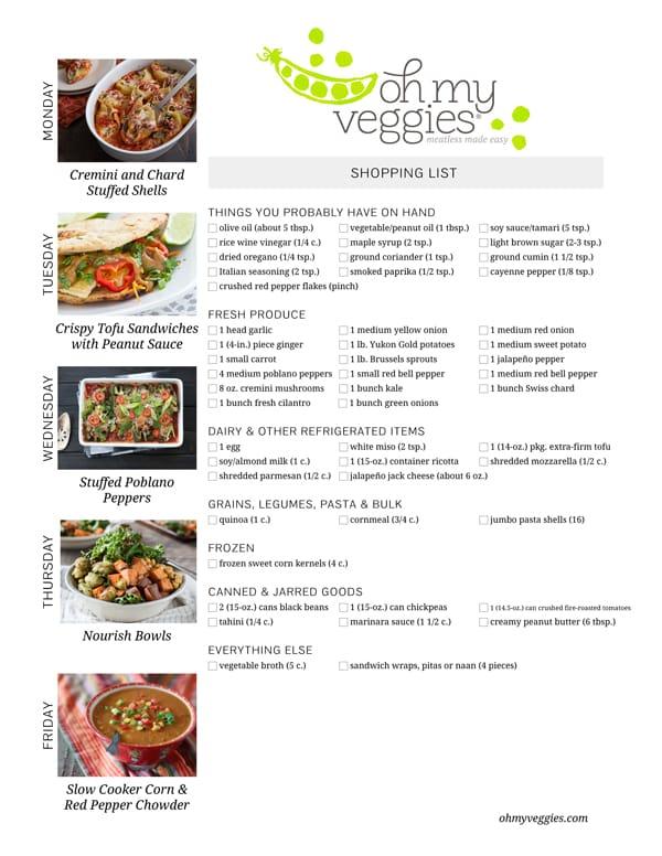 This Week's Meatless Meal Plan - 12.07.15