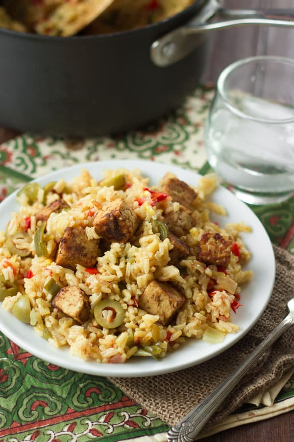 Arroz Con (No) Pollo