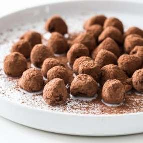 Vegan Fresh Raspberry Truffles Recipe