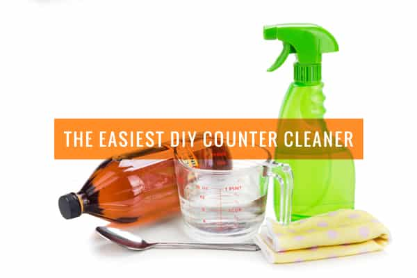 The Easiest DIY Kitchen Counter Cleaner