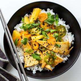 Tofu and Pineapple Stir Fry Recipe
