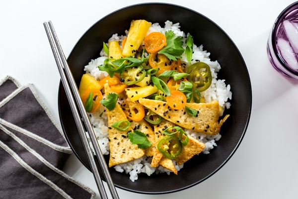 Tofu and Pineapple Stir Fry Recipe