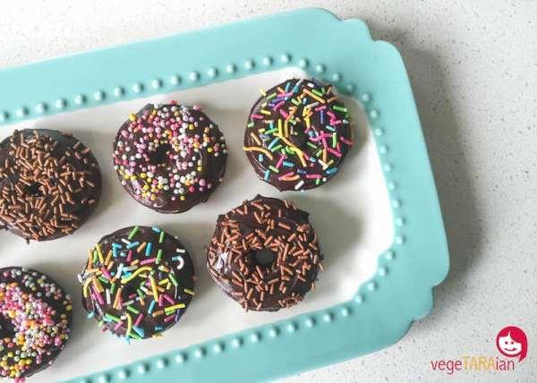 Mini Chocolate Donuts