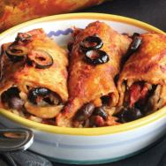 Freezer-Friendly Vegetable Enchiladas
