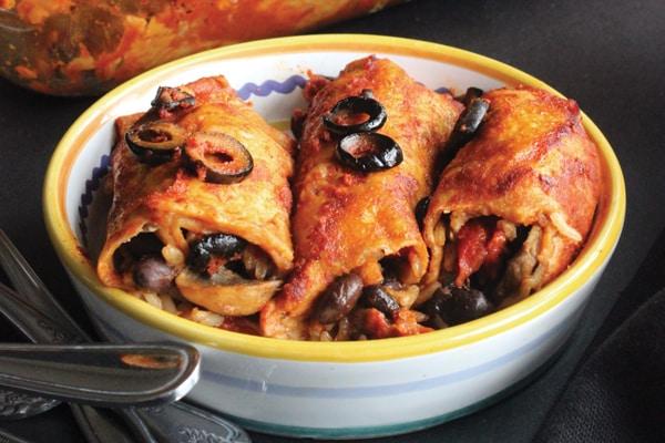 Freezer-Friendly Vegetable Enchiladas