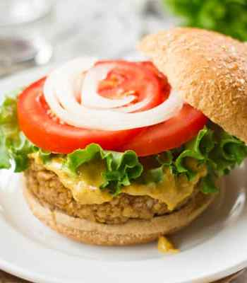 Walnut Chickpea Burgers