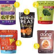 5 Veggie Alternatives to Kale Chips