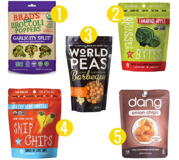 5 Veggie Alternatives to Kale Chips