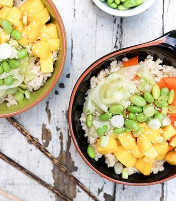 Mango Sushi Bowls Recipe