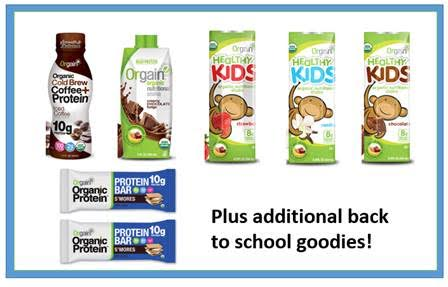 Orgain Back-To-School Survival Pack