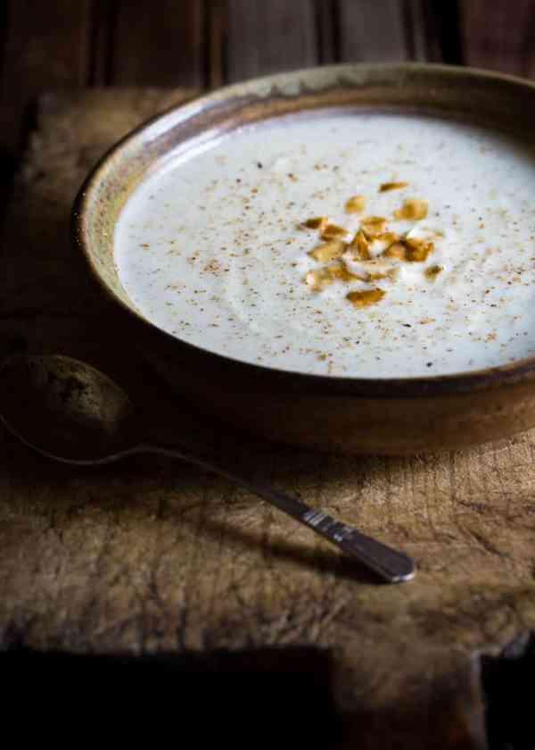 Cauliflower & Coconut Milk Soup