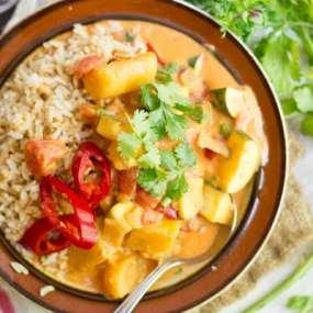Vegetable & Plantain Moqueca