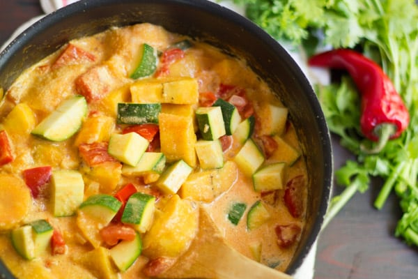Vegetable Moqueca with Plantains