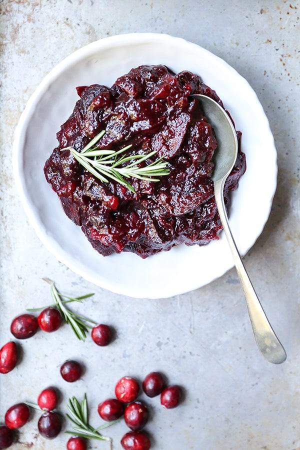 Fig Cranberry Sauce