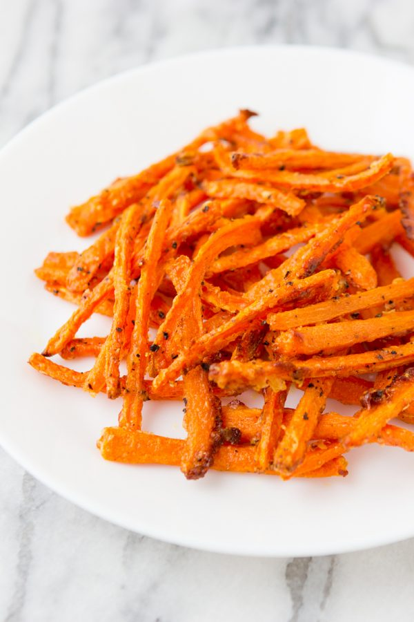 Crispy Carrot Fries