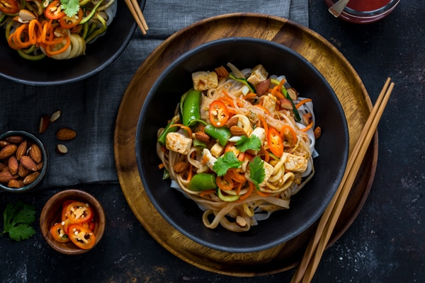 Lightened Up Pad Thai Recipe