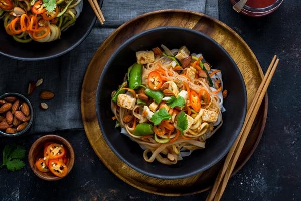 Lightened Up Pad Thai Recipe