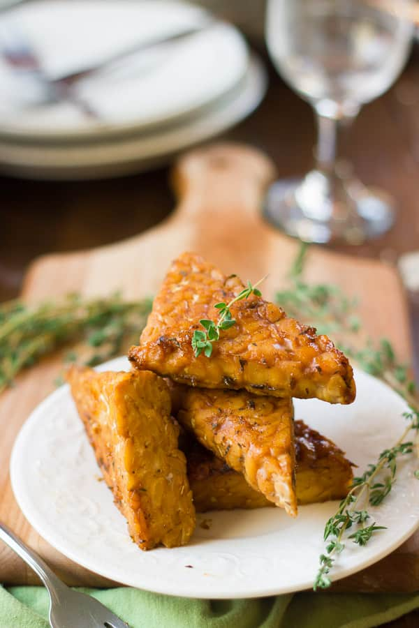 Maple-Miso Tempeh
