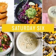 Saturday Six | Pumpkin Pie Cups, Butternut Squash Burrito Bowls & Vegan Cream of Mushroom Soup