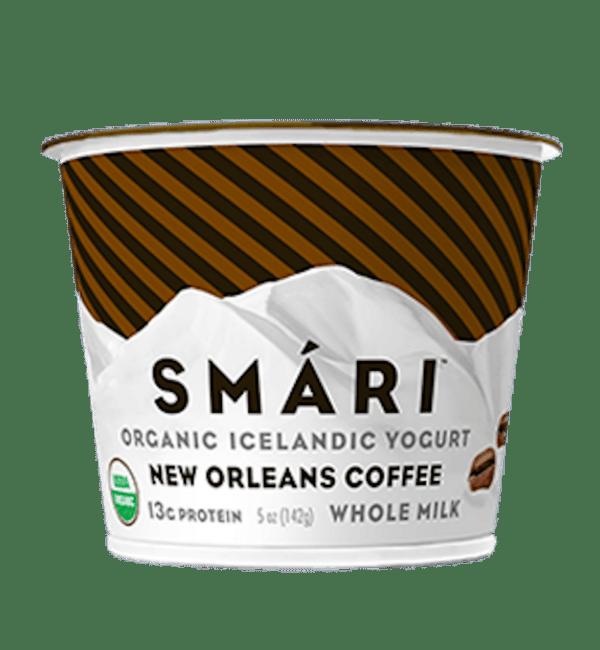 smari organic icelandic yogurt new orleans coffee