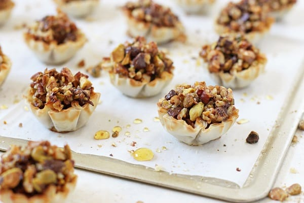 Chocolate Baklava Cups