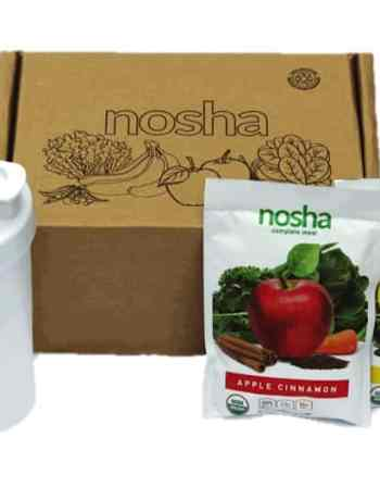 Nosha box green drink smoothies vegan plant based protein