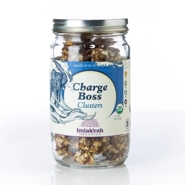 imlakesh organics charge boss clusters