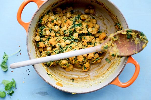 Vegan Sweet Potato, Chickpea and Spinach Empanadas