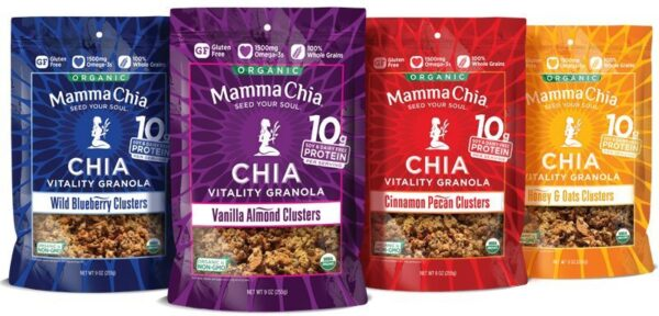 mamma chia vitality clusters healthy breakfasts
