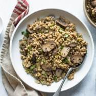 Mushroom Barley Pilaf