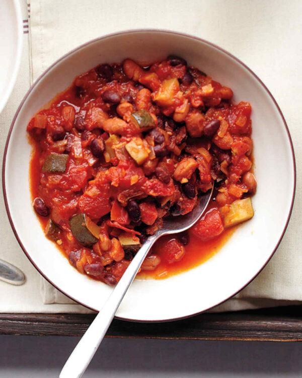 martha stewart best vegetarian chili