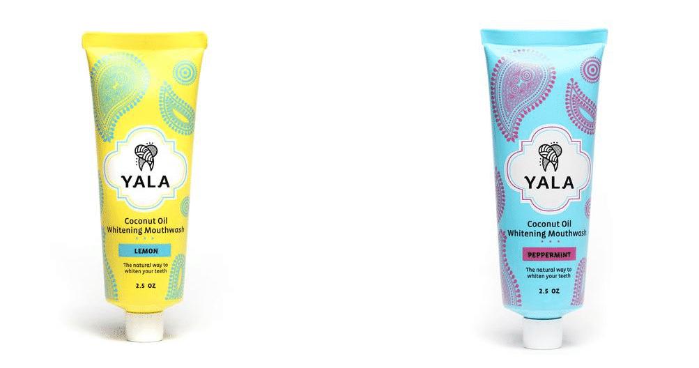 yala coconut oil whitening mouthwash