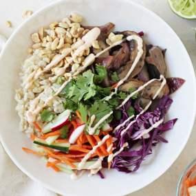 Portabella Banh Mi Bowls