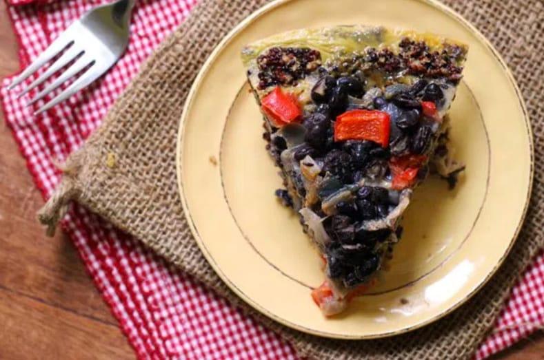 17 Creative Quiche Recipes: Southwestern Style Quiche with Quinoa Crust