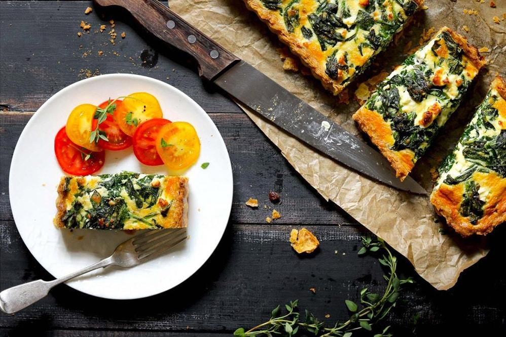 17 Creative Quiche Recipes: Spinach Quiche