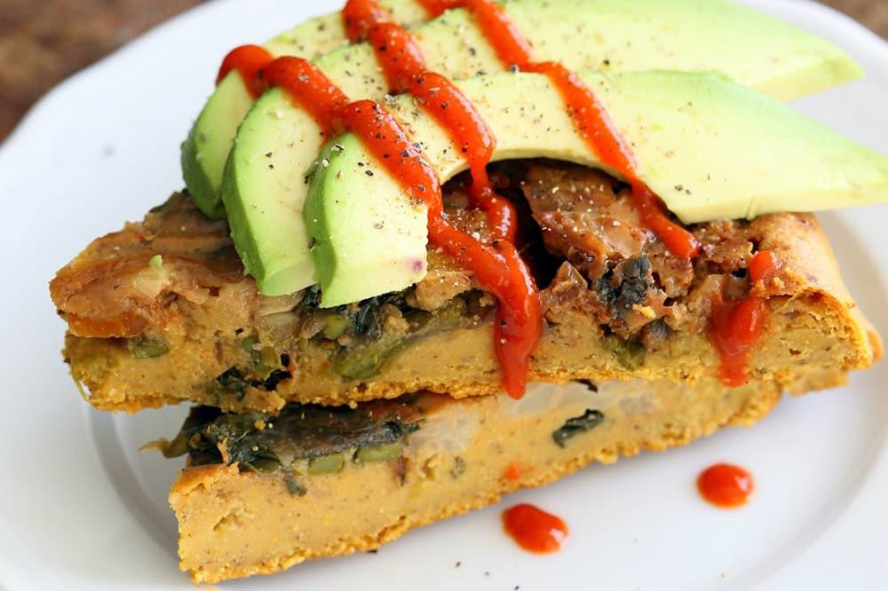 17 Creative Quiche Recipes: Vegan Lentil Asparagus Frittata
