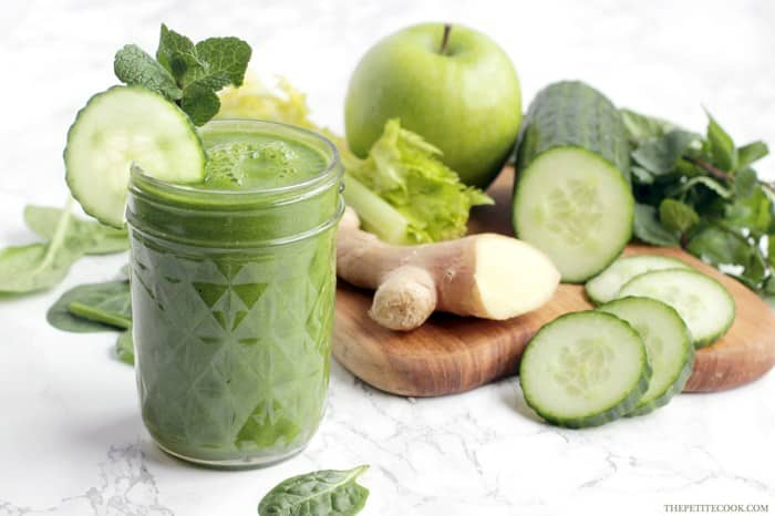 20 Healthy Green Smoothie Recipes: Morning Green Juice