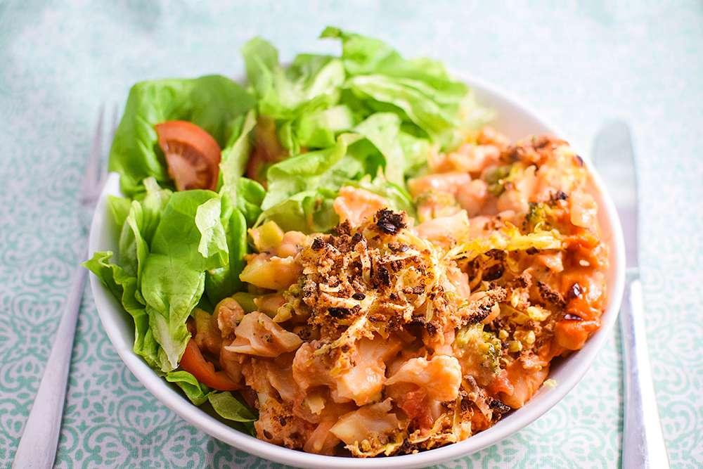 17 of the Best Vegetarian Casseroles: Healthy Chickpea & Cauliflower Casserole
