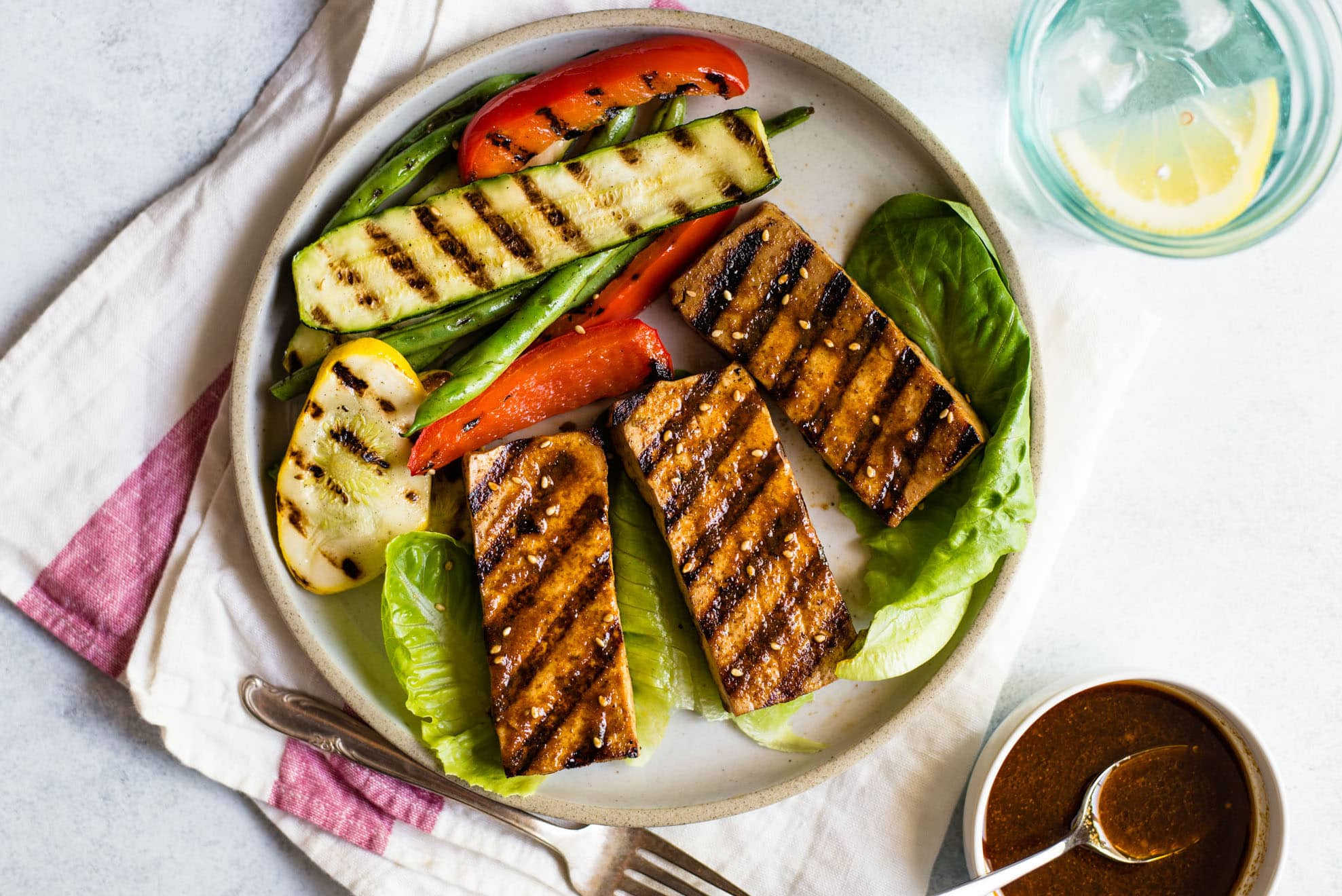 15 of the Best Vegetarian Grilling Recipes: Cajun-Spiced Grilled Tofu