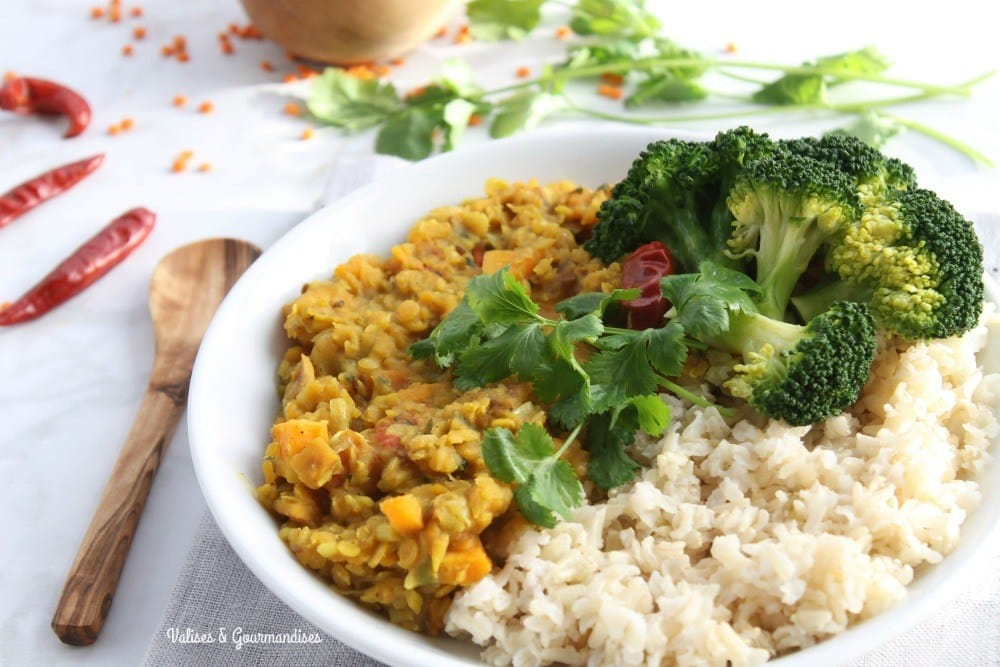 18 Best Easy Vegetarian Recipes: Red Lentil Dal
