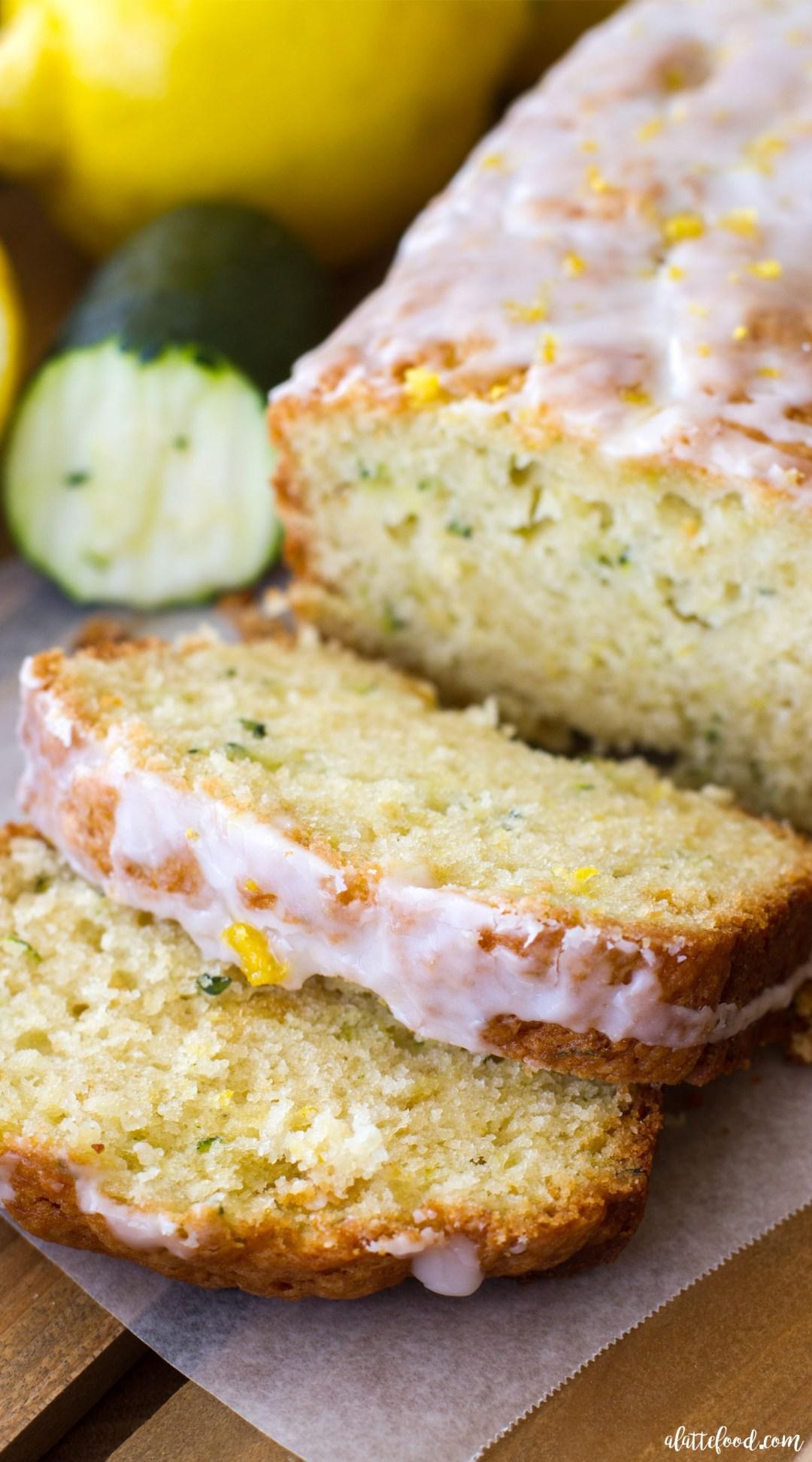 18 Zucchini Bread Recipes Everyone Will Love: Lemon Zucchini Bread