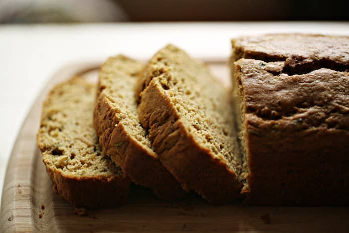 18 Zucchini Bread Recipes Everyone Will Love: Olive Oil Zucchini Bread with Lemon and Cardamom