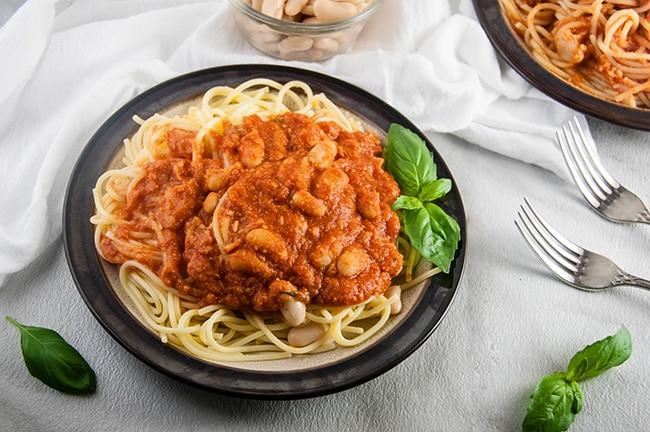 18 Best Easy Vegetarian Recipes: Pasta White Beans