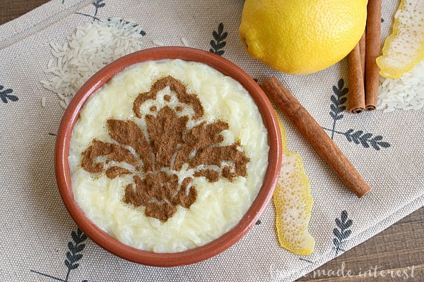 15 Creamy & Dreamy Rice Pudding Recipes: Portuguese Rice Pudding