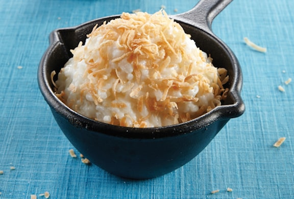 15 Creamy & Dreamy Rice Pudding Recipes: Baked Coconut Rice Pudding