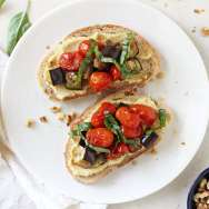 Summer Veggie Tartines
