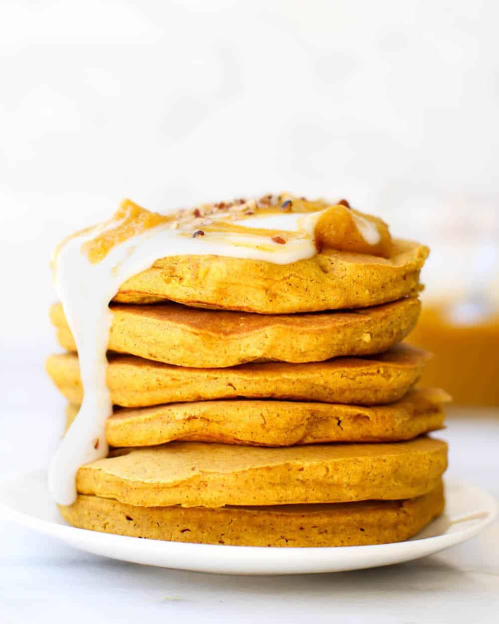26 Creative and Delicious Turmeric Recipes: Turmeric Spice Pancakes