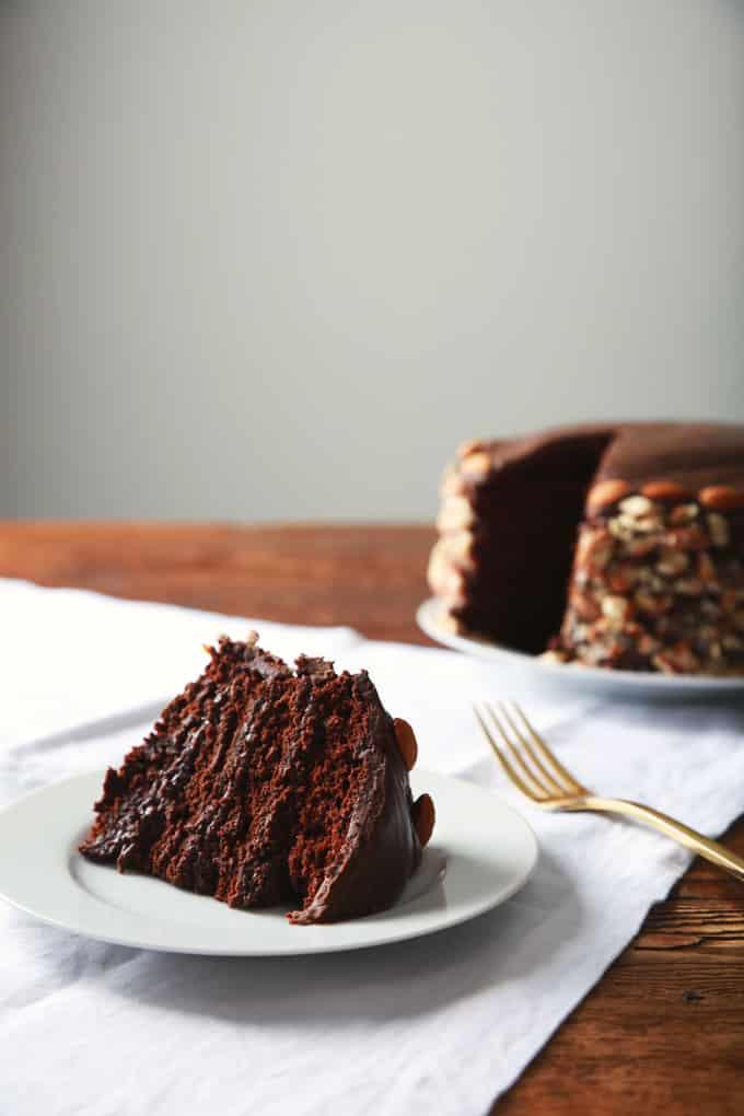 25 Drool-Worthy Chocolate Cake Recipes: Vegan Blackout Cake