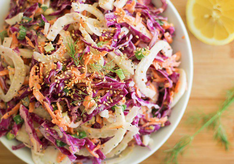 15 Coleslaw Recipes to Make This Summer: Fennel and Cabbage Slaw